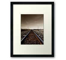 Track to the Wilderness Framed Print