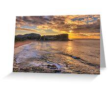 Glory - Avalon Beach, Sydney Australia - The HDR Experience Greeting Card