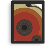 ode to vinyl Canvas Print