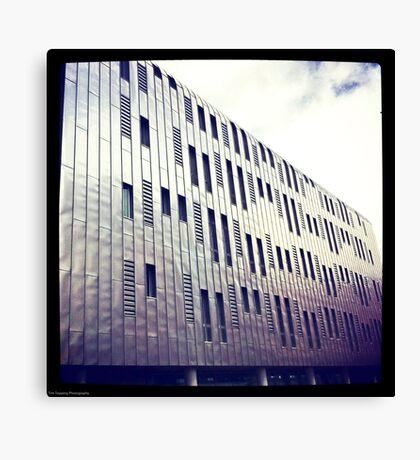 Manchester Metal Building Canvas Print
