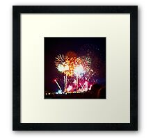 Fireworks Framed Print