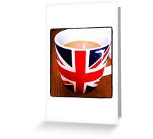 Morning Cuppa Greeting Card