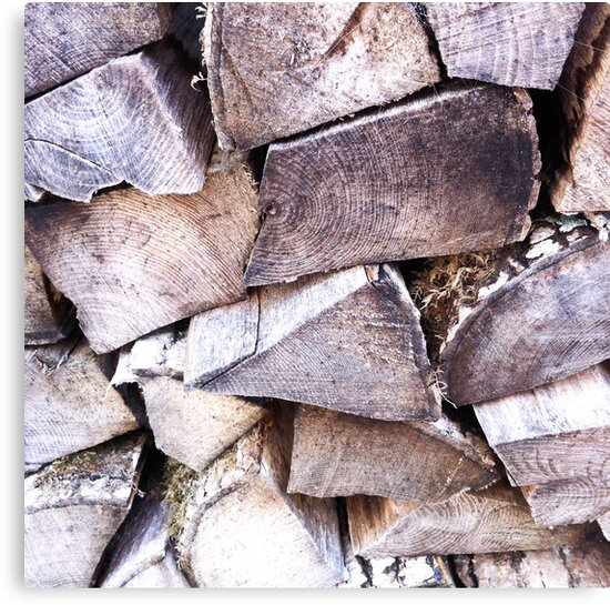 Wood Pile by Tim Topping