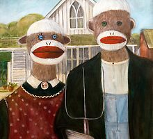 American Sock Monkeys by Randy  Burns
