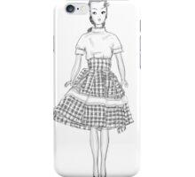 barbie cute art iPhone Case/Skin