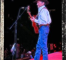 George Strait Takes the Mic by © Bob Hall