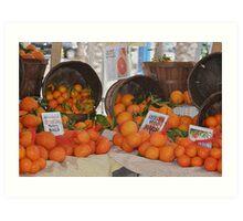 Still Life in Orange Art Print