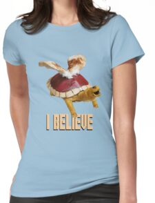 I Believe: Real Koopa Taxidermy Womens Fitted T-Shirt