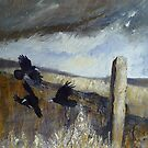 Pennine Rooks by Sue Nichol