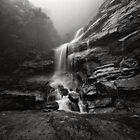Bridal Veil Falls III by Peter Hill