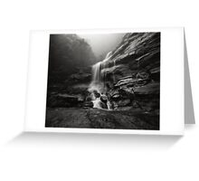 Bridal Veil Falls III Greeting Card