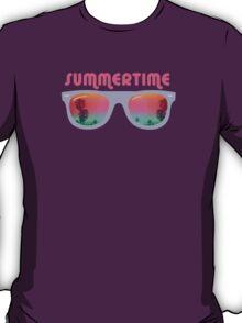 Summertime - Sunglasses T-Shirt