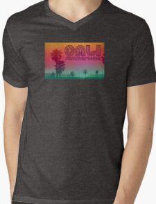 California Summertime Mens V-Neck T-Shirt