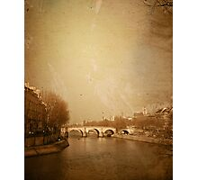 old-fashioned style paris france Photographic Print