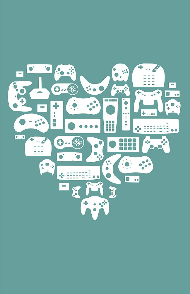 Controller Love by pinksage