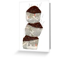 100% Chocolate Muffins  Greeting Card