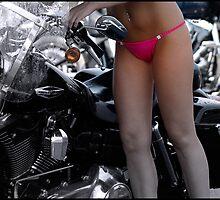 Washing Harley  by ArtbyDigman