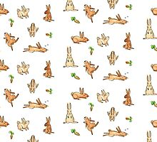 Bunnies! by Nikita Horridge