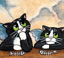 A Feline Tribute to Raphael's Little Angels by Lisa Marie Robinson