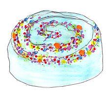 Celebration Cake Photographic Print