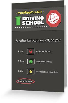 MK Driving School by thehookshot