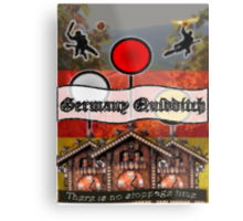 Germany Quidditch Metal Print