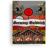 Germany Quidditch Canvas Print