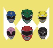 Mighty Morphin' Power Rangers Kids Tee