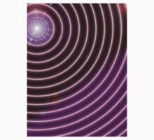 Purple Rays One Piece - Short Sleeve