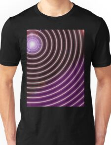 Purple Rays Unisex T-Shirt