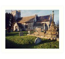 Wingfield Church, Trowbridge, Wiltshire Art Print