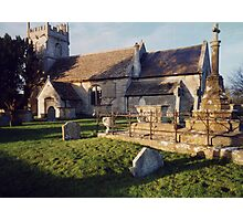 Wingfield Church, Trowbridge, Wiltshire Photographic Print