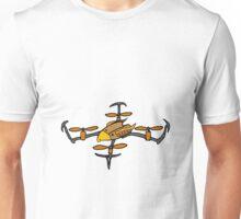 Cool Drone Flying Eagle Design Unisex T-Shirt