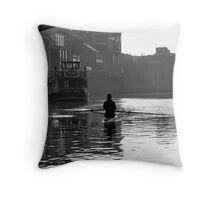 Of commerce, transportation and pleasure #2 Throw Pillow