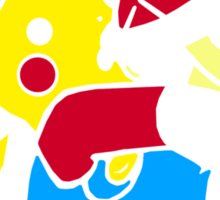 Shell-shocked Sticker