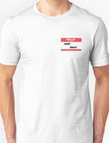 Hello, my name is Amon T-Shirt
