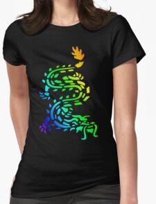 Oriental Dragon Colourful Design T-Shirt