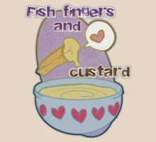 Fish fingers and custard by KanaHyde