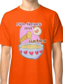 Fish fingers and custard Classic T-Shirt