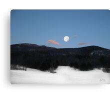 Stinson Mountain Moonrise Canvas Print