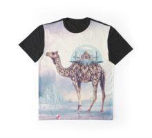 Taj Mahal On Camel's Back Graphic T-Shirt