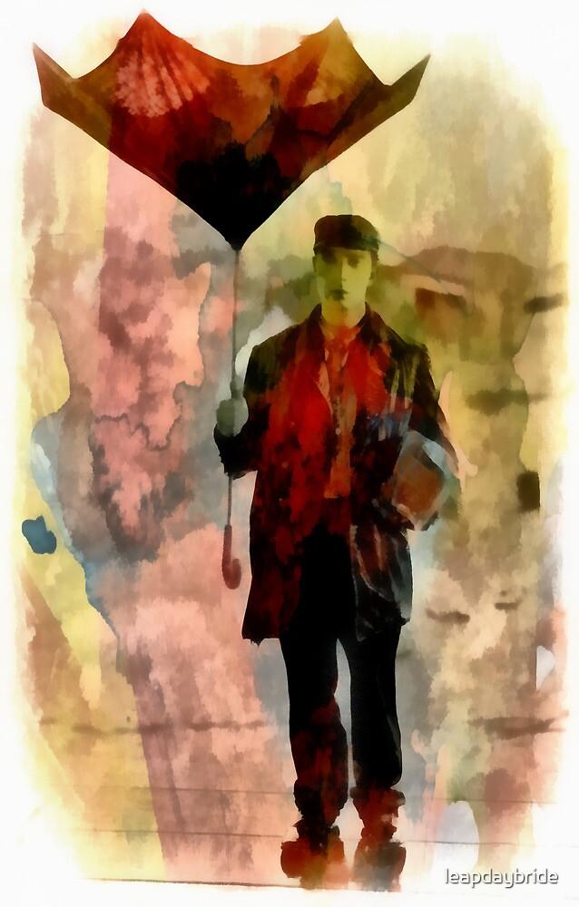 Technicolor Rain ~ Buster Keaton by leapdaybride