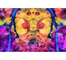 Rorschach ~ Gas Mask Photographic Print