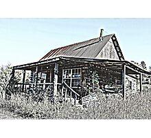 Hillbilly Cabin Photographic Print