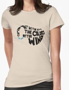 Just Around the Riverbend Womens Fitted T-Shirt