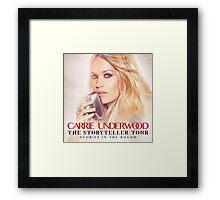 CARRIE UNDERWOOD STORYTELLER TOUR Framed Print