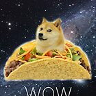 Taco Doge In Space by Eliotmad