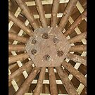 Wood ceiling iPhone case by Moonlake