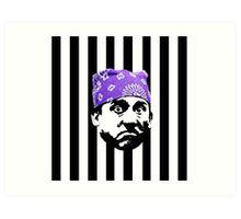 Prison Mike Art Print