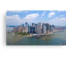 Manhattan - New York Canvas Print